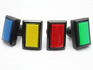 Rectangle Illuminated Buttons