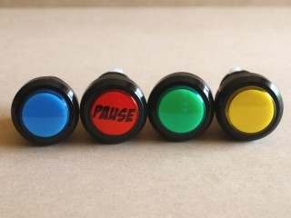 Pause Button - available colours