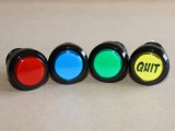 Quit button - available colours