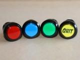 Quit button - available colours