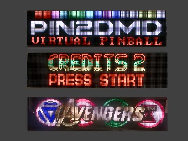 PIN2DMD – RGB LED Dot Matrix Display
